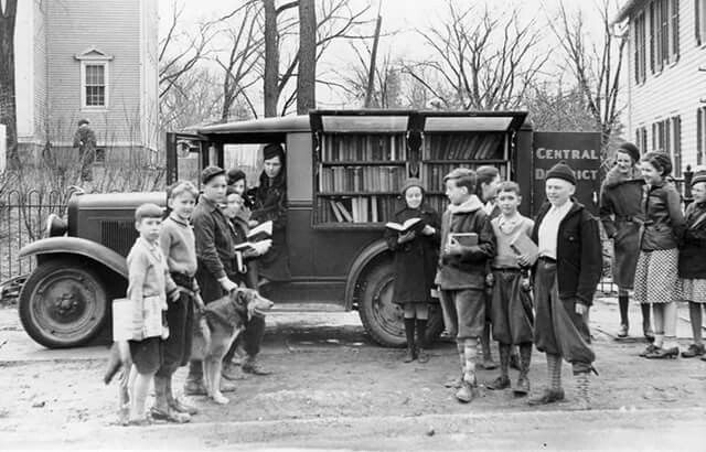 Biblioteca móvil.