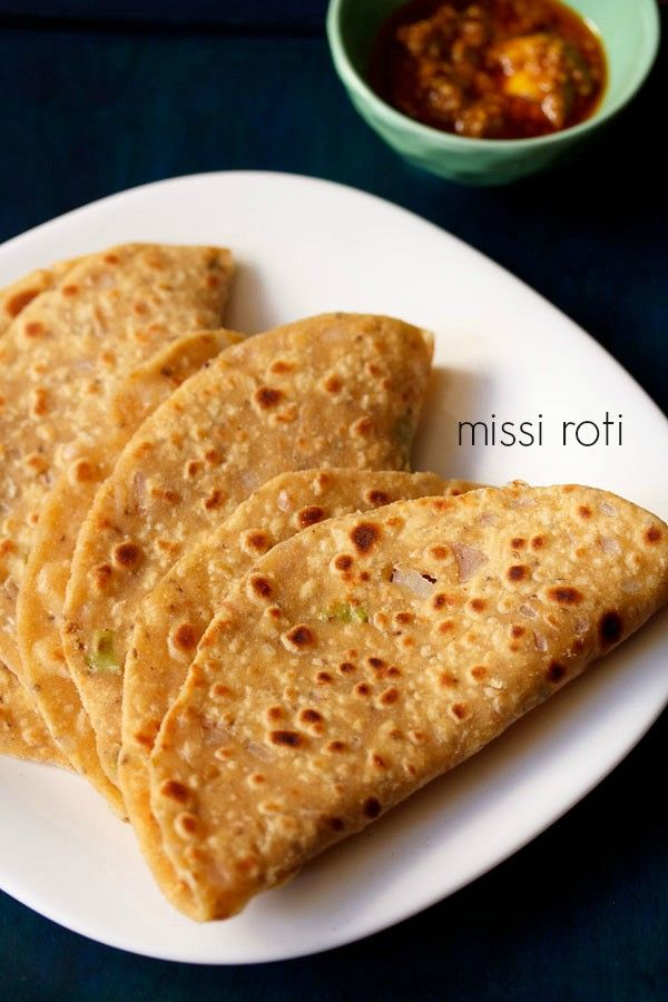 missi roti recipe with step by step photos - punjabi missi roti or flat breads made with whole wheat flour (atta), gram flour and spices.    missi roti is a north indian speciality and is often made