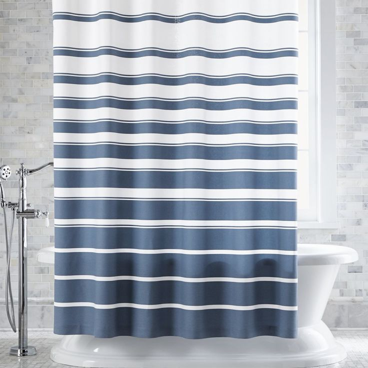 red white striped shower curtain. Hampton Blue White Striped Shower Curtain  Crate and Barrel Best 25 shower curtains ideas on Pinterest Green home