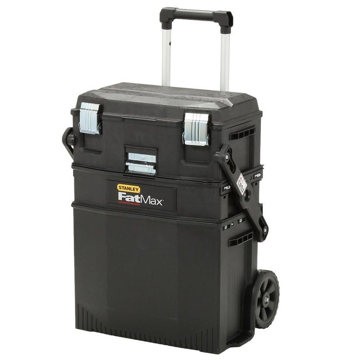 Stanley Fatmax 22 in. Structural Foam Roll Workshop Tool Box-020800R - The Home Depot