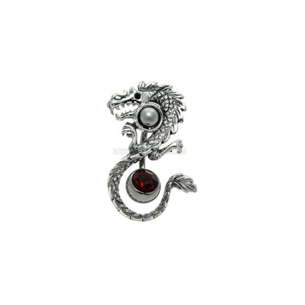 Silver Navel Orbital with Free Belly Bar Dragon ($11) ❤ liked on Polyvore featuring jewelry, piercings, belly rings, belly button rings, body jewelry, silver body jewelry, silver jewelry, silver jewellery, body jewellery and belly ring jewelry