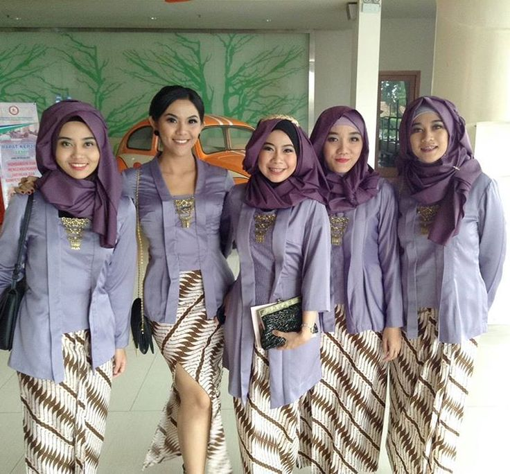 Soft purple Kutubaru for bridesmaid