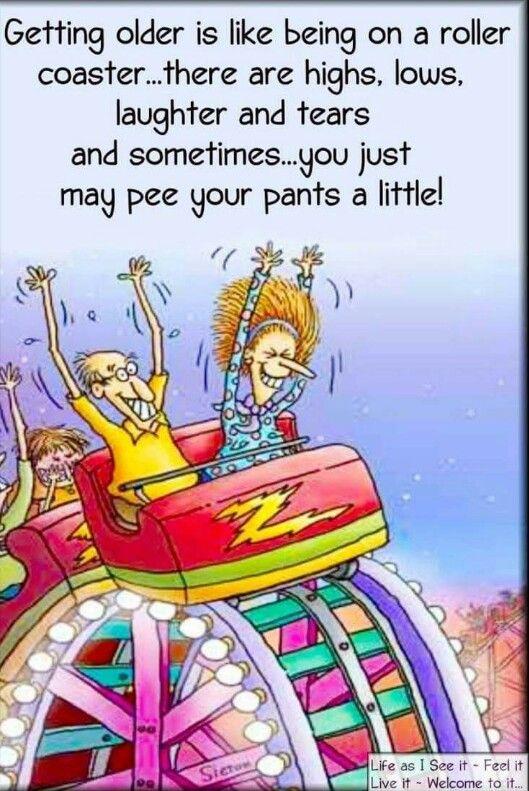 Getting older humor