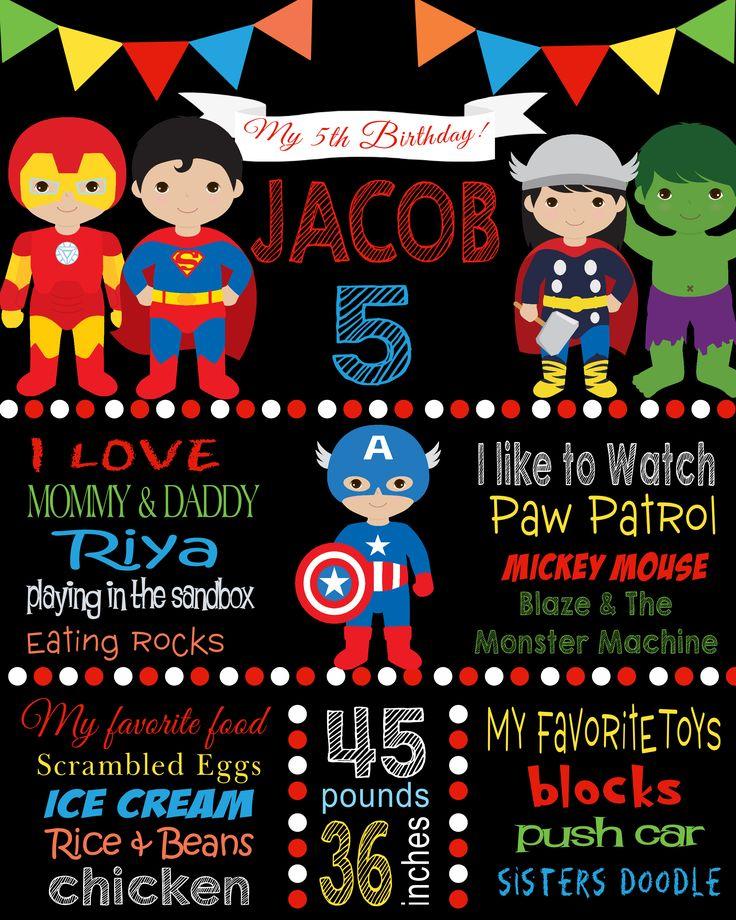 superheros milestone poster