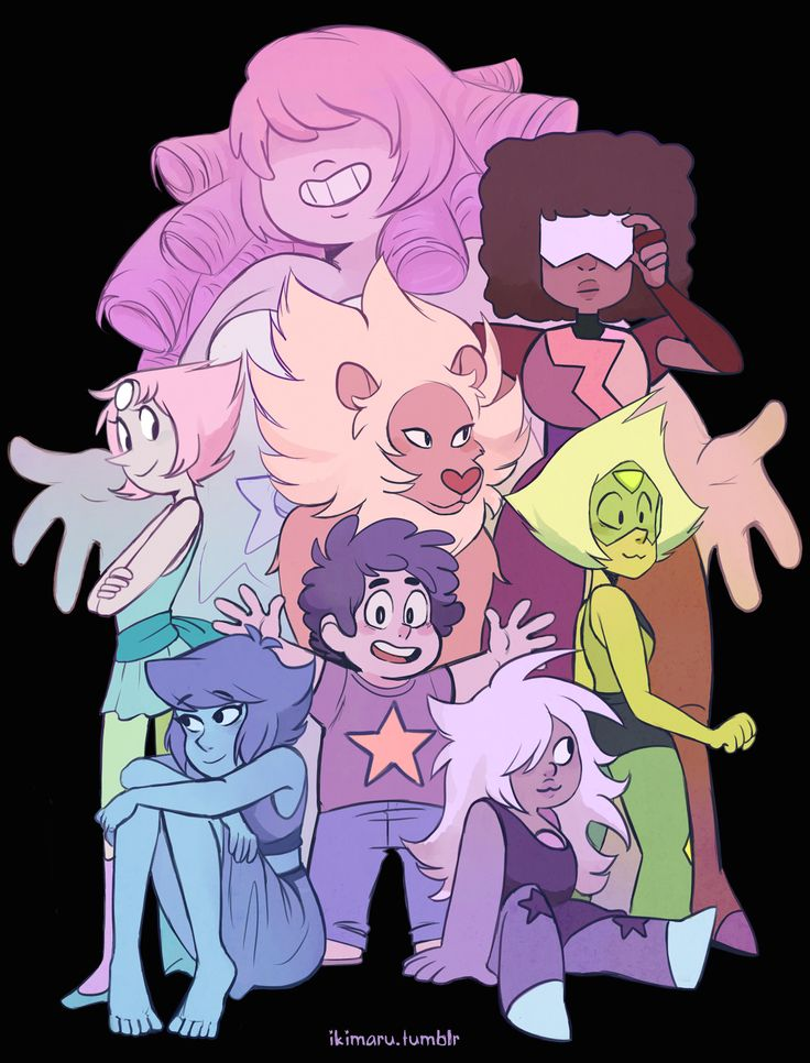 Steven Universe Fan Art! — ikimaru:   can finally post this group pic I made...