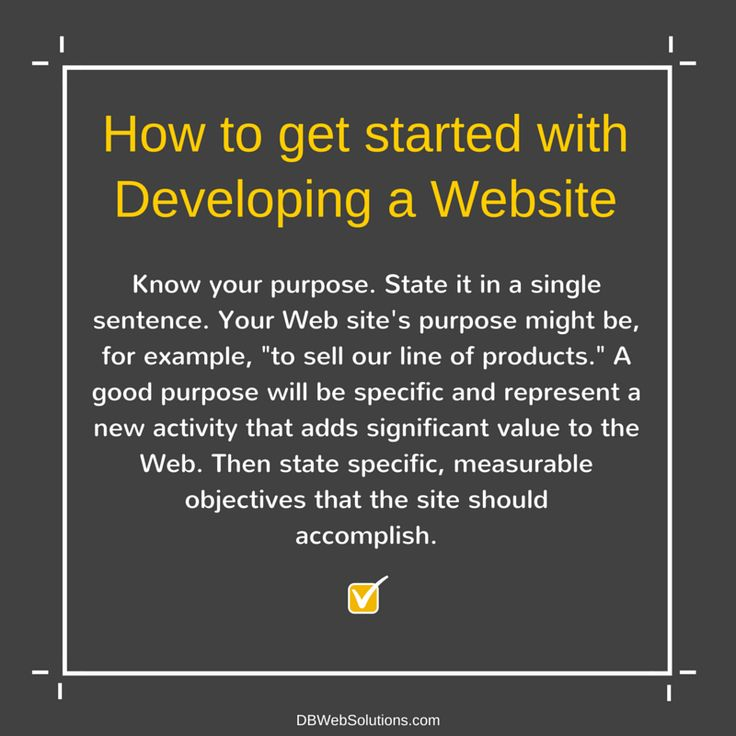 How to get started with Developing a Website  #Website #Development #WebDevelopment