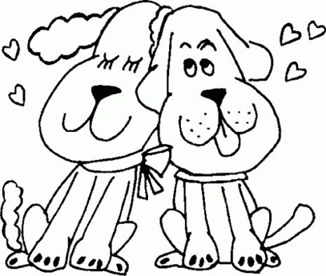 66 best Dia dos Namorados images on Pinterest Print coloring pages - best of valentines day coloring pages with dogs