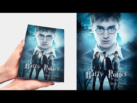 Desain cover buku Harry Potter dengan Photoshop. - YouTube