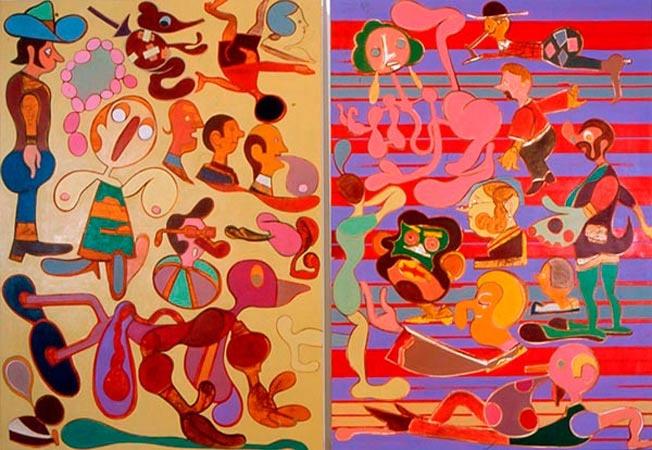 Ya Ya Oil on canvas, 2005 2100mm x 3000mm