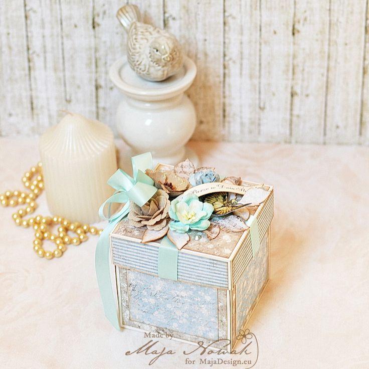 CraftHobby Oliwiaen: Wedding Exploding Box - pudełko ślubne