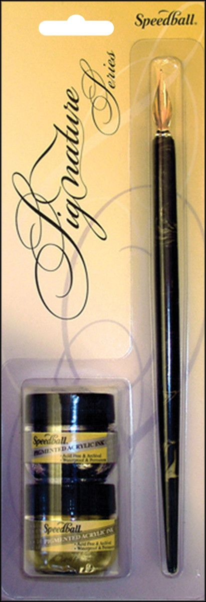 Signature Series Calligraphy Pen & Ink Set