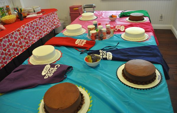 Cake Boss Themed Tween Birthday Party Idea | Tween Crafts - Connecting Mom and Daughter through crafting