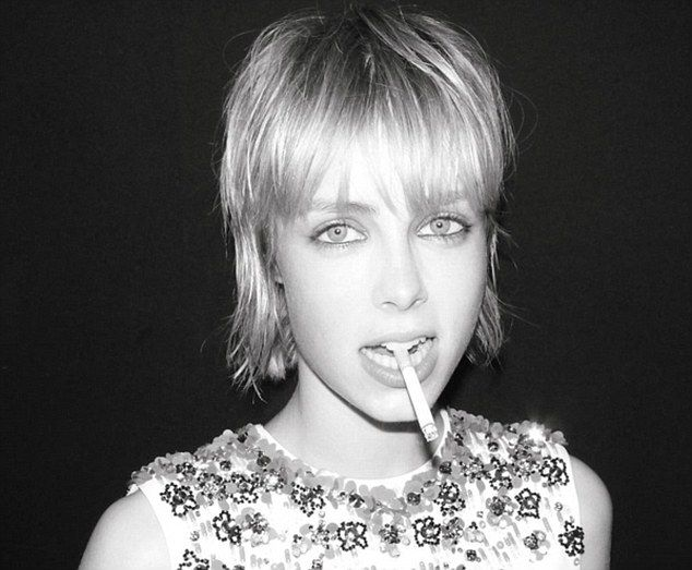 Edie Campbell has failed to keep her smoking in check despite giving up the habit three ye...