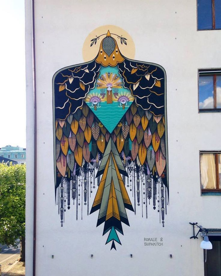 SUPAKITCH & KORALIE for the Artscape festival in Gothenburg, Sweden, 2016