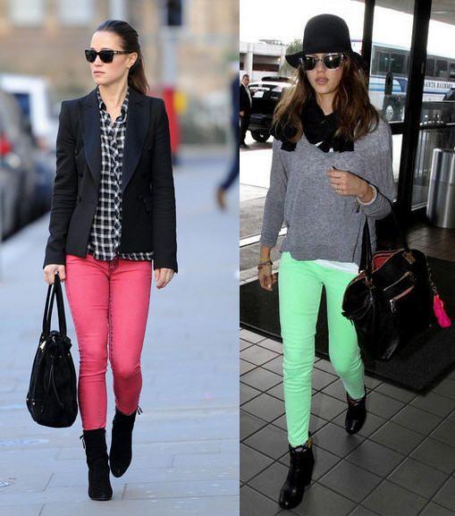 Móda, tipy, triky - Ako nosiť farebné nohavice - Supervizáž