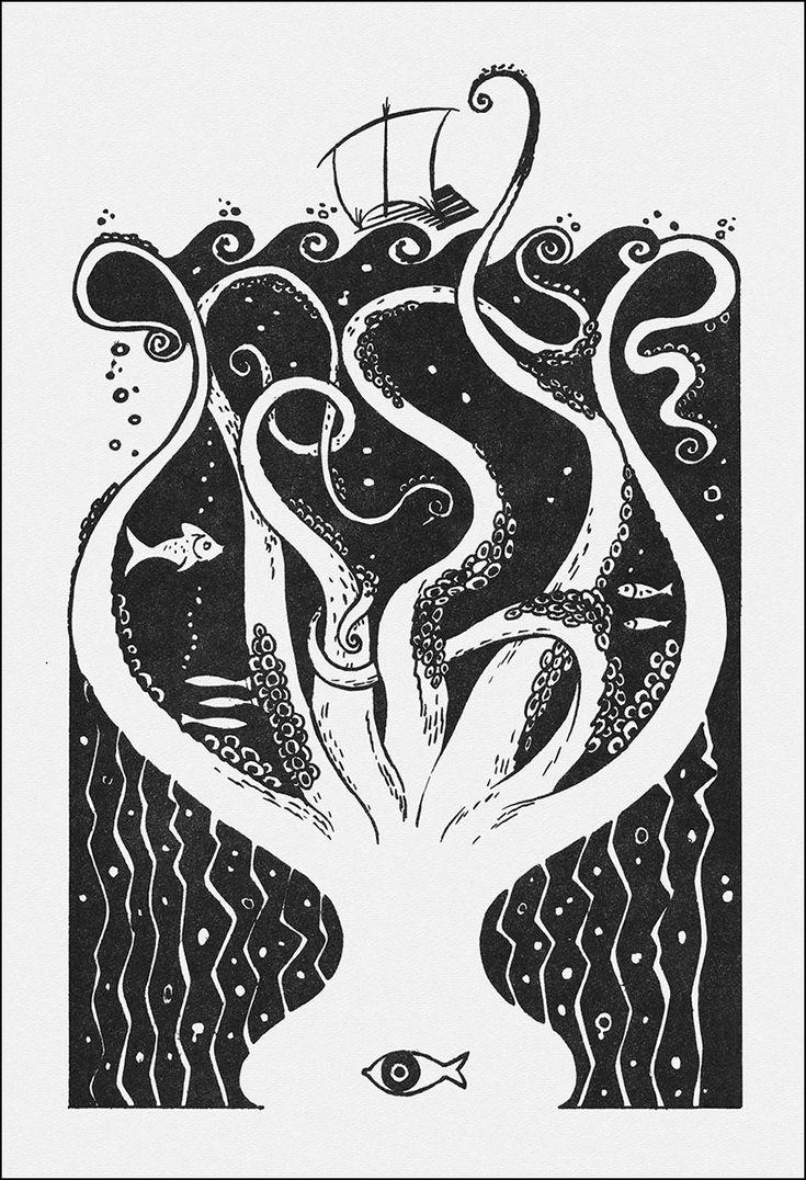 The Adventures of Odysseus. Illustrator Alexey Kapninsky. Алексей Капнинский, Приключения Одиссея