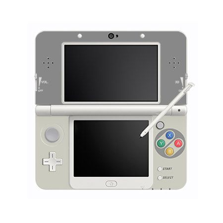 Cover Decals No. 01 SNES for New 3DS by EpicPALdesigns