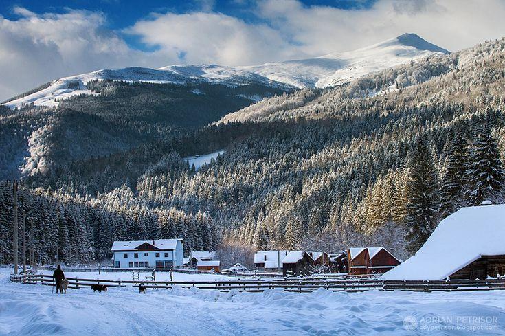 Winter in Romania (by Adrian Petrisor)