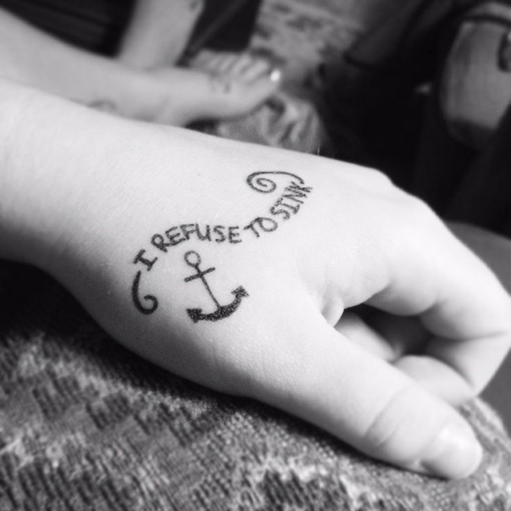 Resultado de imagen para tatuajes prohibido hundirse