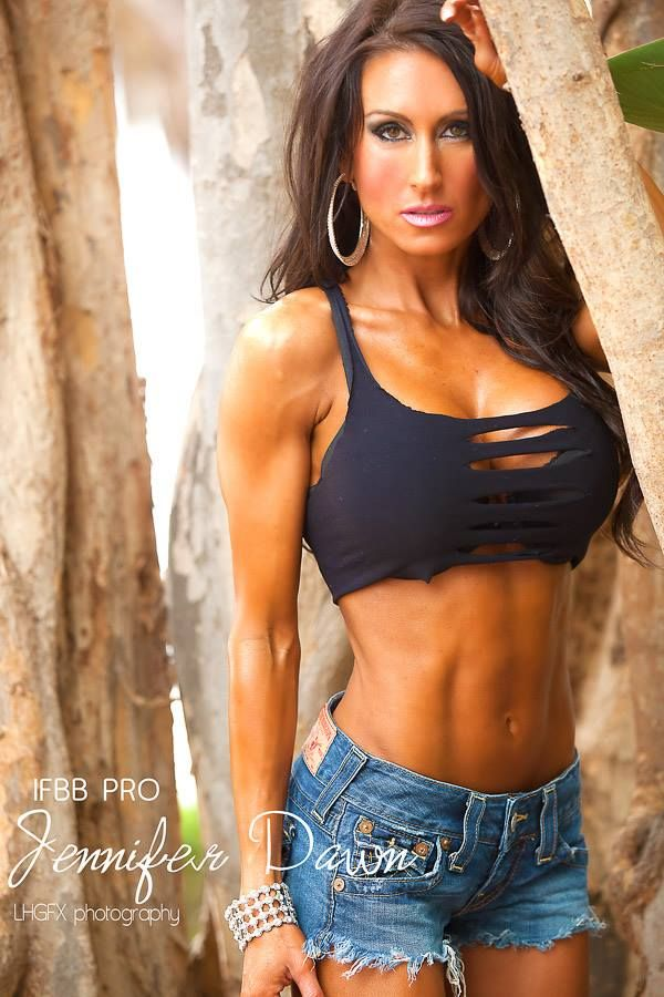 Jennifer Dawn | Fitness Models | Bikini workout, Workout ...