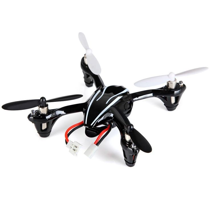 New and Fahion Mini Drone Hubsan H107L 4CH 2.4GHz RC Quadcopter 6-Axis Gyro Helicopter with LED Light Best RC Toy Children Gifts