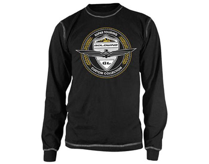 Men's Black/Grey Goldwing Custom Collection Thermal ...