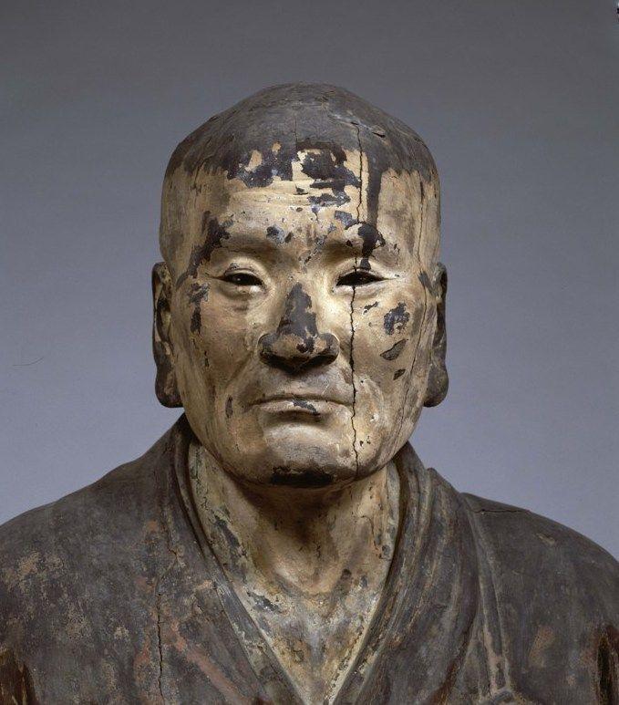 国宝 無著像 運慶作 1212年 撮影:金井杜道 (c)金井杜道