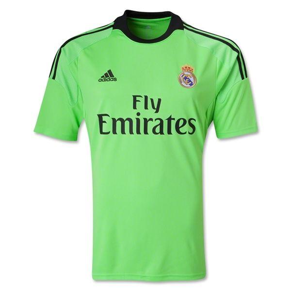 Real Madrid 13/14 Away Goalkeeper Soccer Jersey