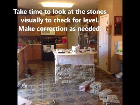 Kitchen Island AirStone Project March 28   29, 2015