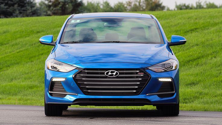 2017 Hyundai Elantra Sport Review Photos
