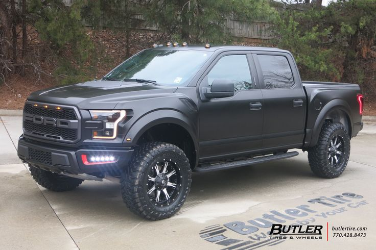 2017 Ford Raptor with 20in Fuel Nutz Wheels and Toyo Open Country MT Tires with Full Custom Wrap, Custom LEDs and Full Custom Interior