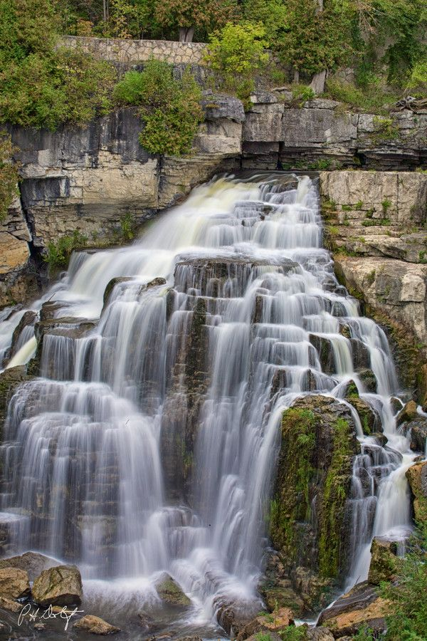 Inglis Falls, Owen Sound, Ontario, Canada. Just 10 minutes from home and even more beautiful than the picture!