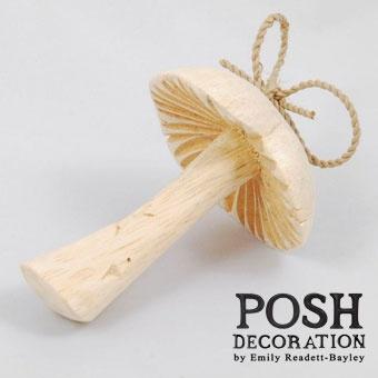 Love this wooden mushroom