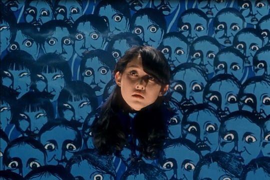 A screenshot from the Japanese Horror film House (Hausu