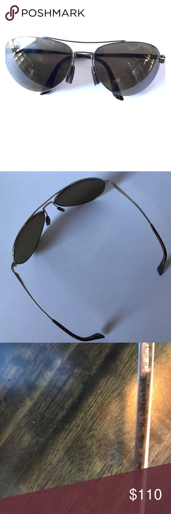 Maui Jim Pilot Sunglasses 😎 MJ 210 16 Preloved and excellent condition Maui Jim Accessories Glasses