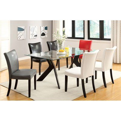 39 best Glass Dining Tables images on Pinterest | Glass tables ...