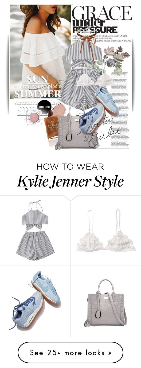 """""""Untitled #1451"""" by maja-k on Polyvore featuring NIKE, Chan Luu and Justin Bieber"""