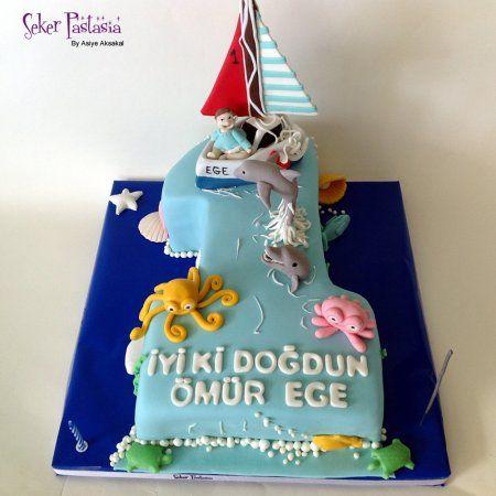 Ömür Ege 1 Yaş pasta