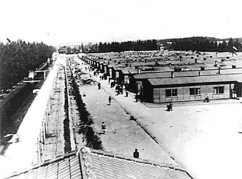 """An overview of Dachau.  Dachau was one of the first true concentration camps in Germany proper, opening in 1933.  Initially, it was a sort of """"scare therapy"""" center for political prisoners, homosexuals, and impenitent or chronic criminals. At first, many, if not most, prisoners were held for an indeterminate time, then released.  Eventually, as the Nazis gathered political control into their hands, Dachau and other camps became synonymous with brutality and death."""