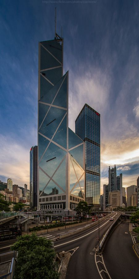 Bank of China Tower, Hong Kong, 1990 | designed by I.M. Pei