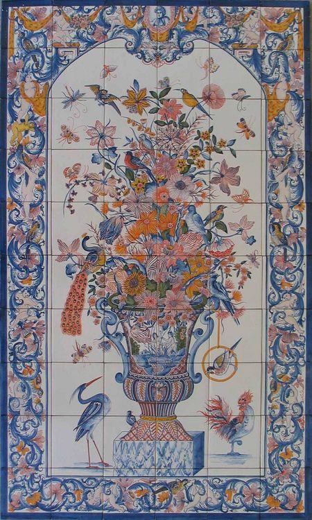 Azulejos de Azeitão, Portugal http://www.azulejosdeazeitao.com/Home.asp (Thx Anna J)