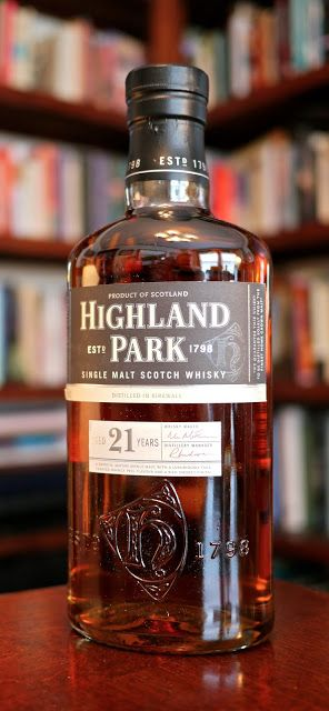 The Highland Park 21 Single Malt Scotch Whisky