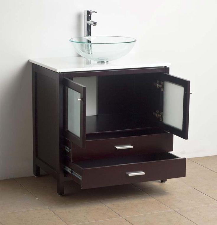 Modern Bathroom Vanity 30 Inch bathroom vanity vessel sink - home design inspiration, ideas and
