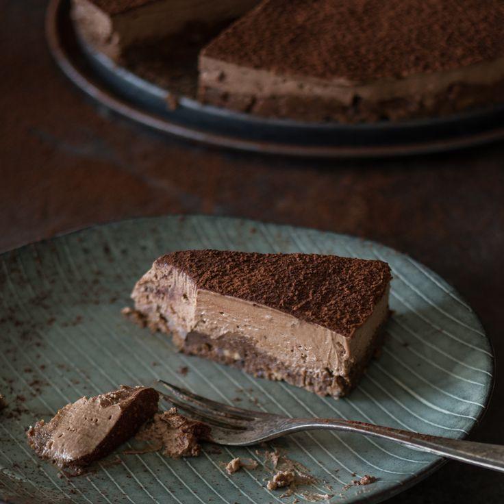 Schokoladen-Käsekuchen ohne Backen