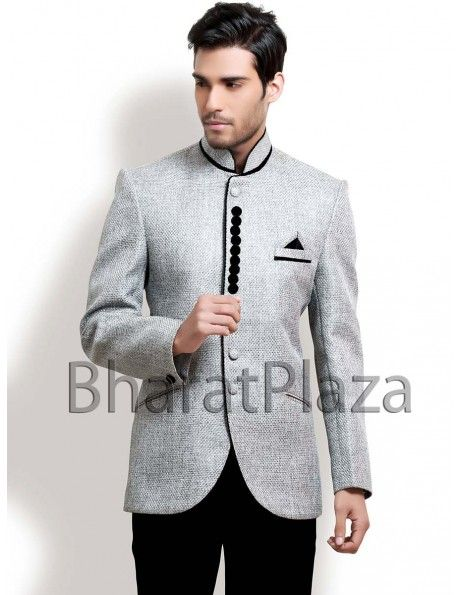 Buy Designer Suit online Unique Style Jodhpuri Suit. http://www.bharatplaza.in/mens-wear/mens-designer-suits.html