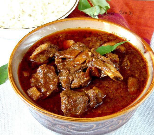 Kitchen Corner-Try It: Nadan Mutton Curry