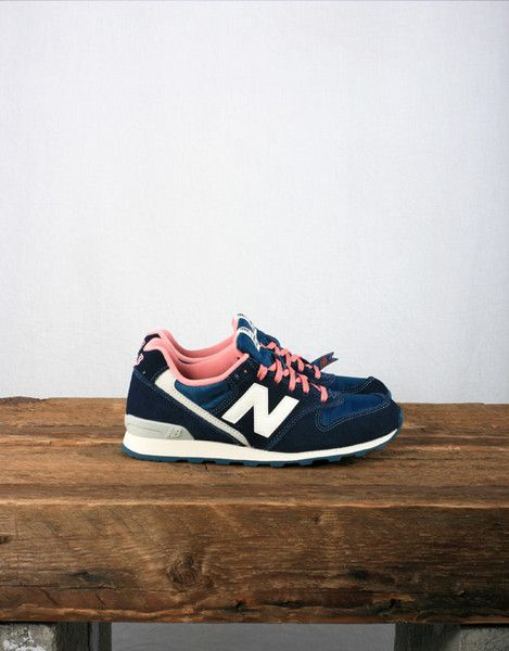 New Balance Women's WR996 - Blue / Pink #Sneakers #shoeporn #ELLE