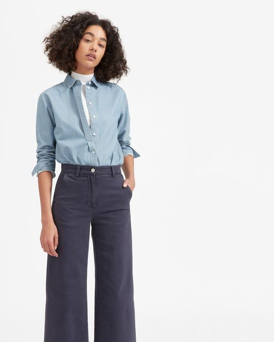 The Relaxed Jean Shirt - Everlane