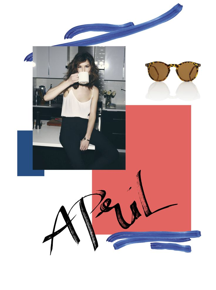 APRIL MOOD BOARD on design and fashion