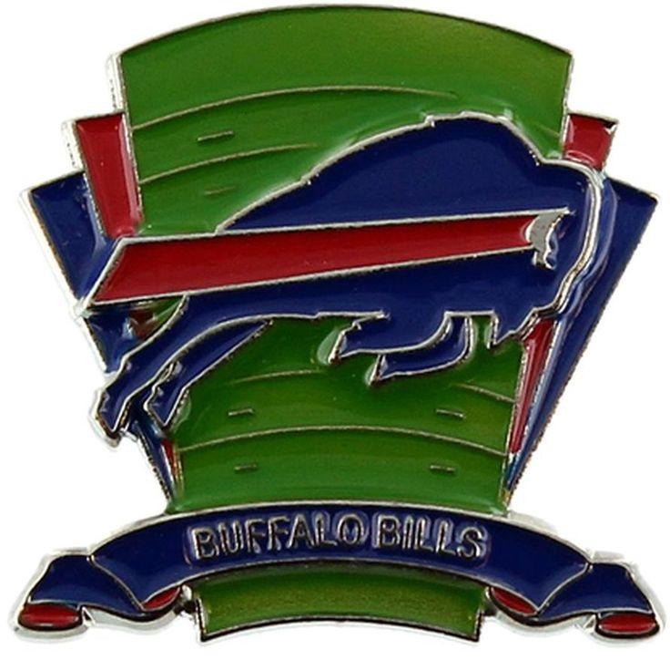 Buffalo Bills Logo Field Lapel Pin - Sunset Key Chains